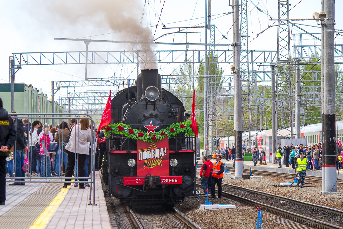 Ретро-поезд Победа фото 29