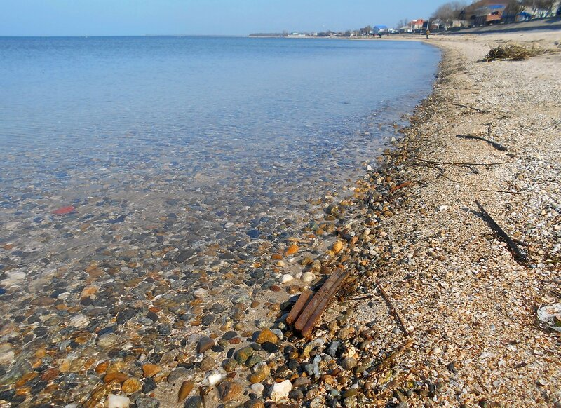 Прозрачность мартовской спокойной воды Азовского моря ... DSCN1249.JPG