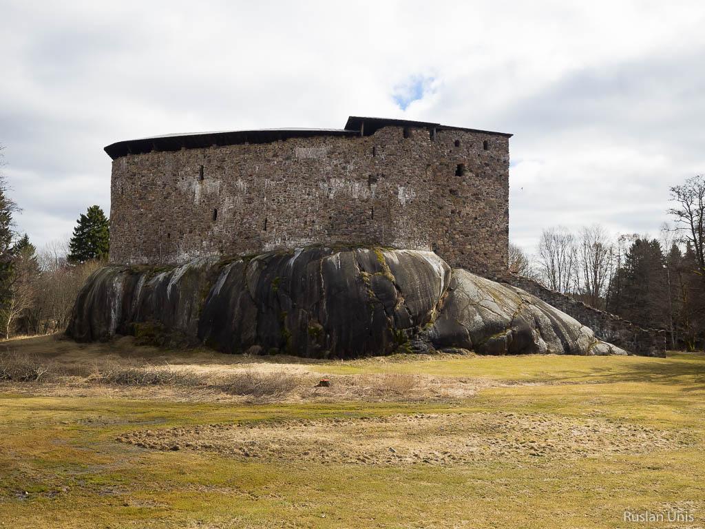 Замок Расеборг в Финляндии