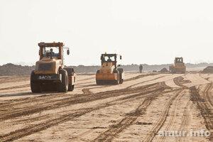 В Амурской области строят дорогу к будущему мосту в Хэйхэ