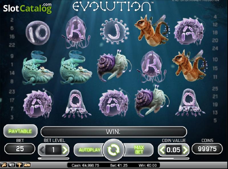 Evolution слот