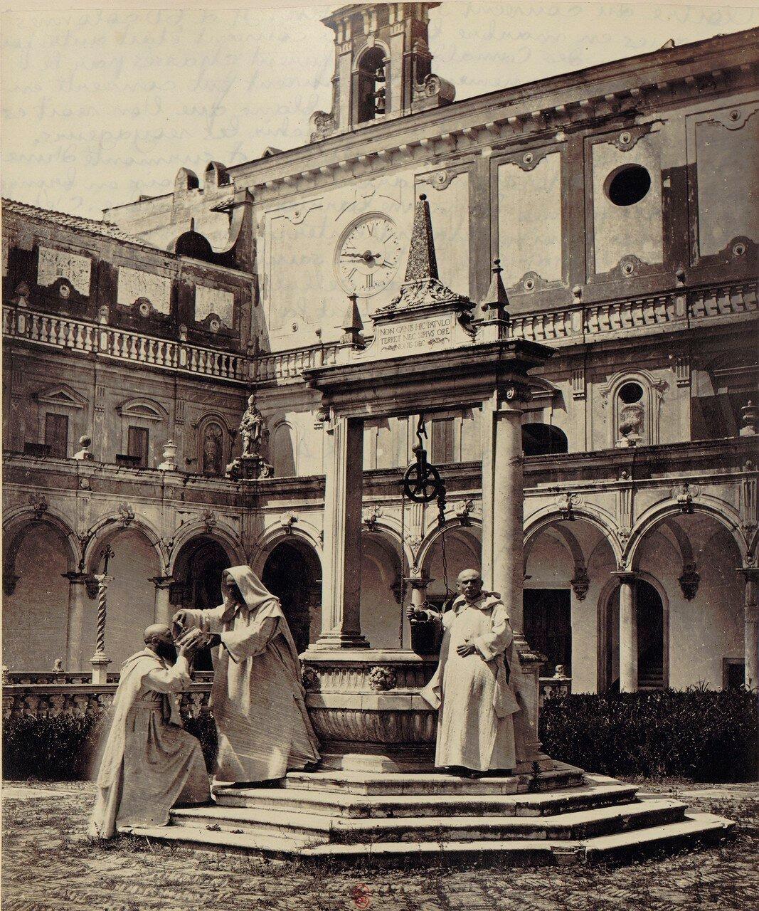 63. Картезианский монастырь святого Мартина.  Самаритянский колодец