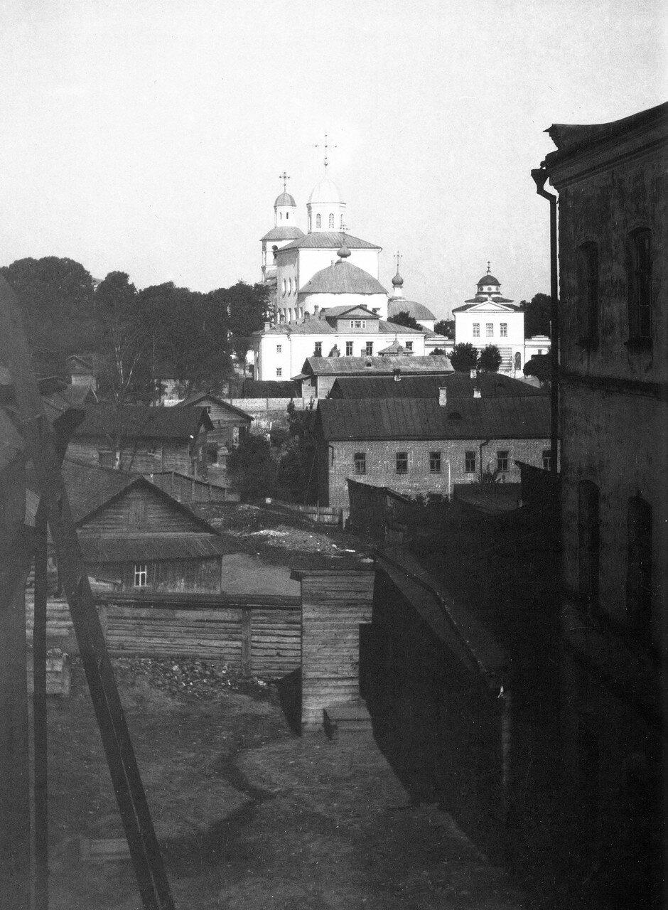 Вид на Вознесенский монастырь. 1908