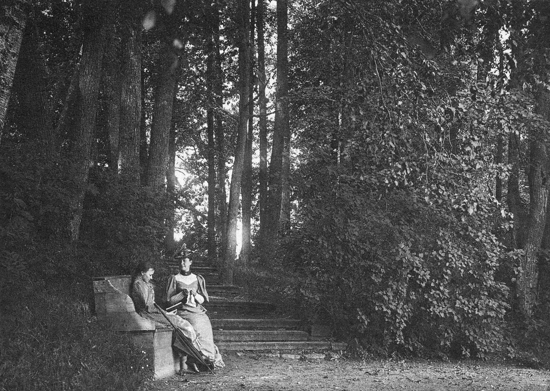 Иоанно-Богословский Череменецкий мужской монастырь. На прогулке в парке Череменецкого монастыря