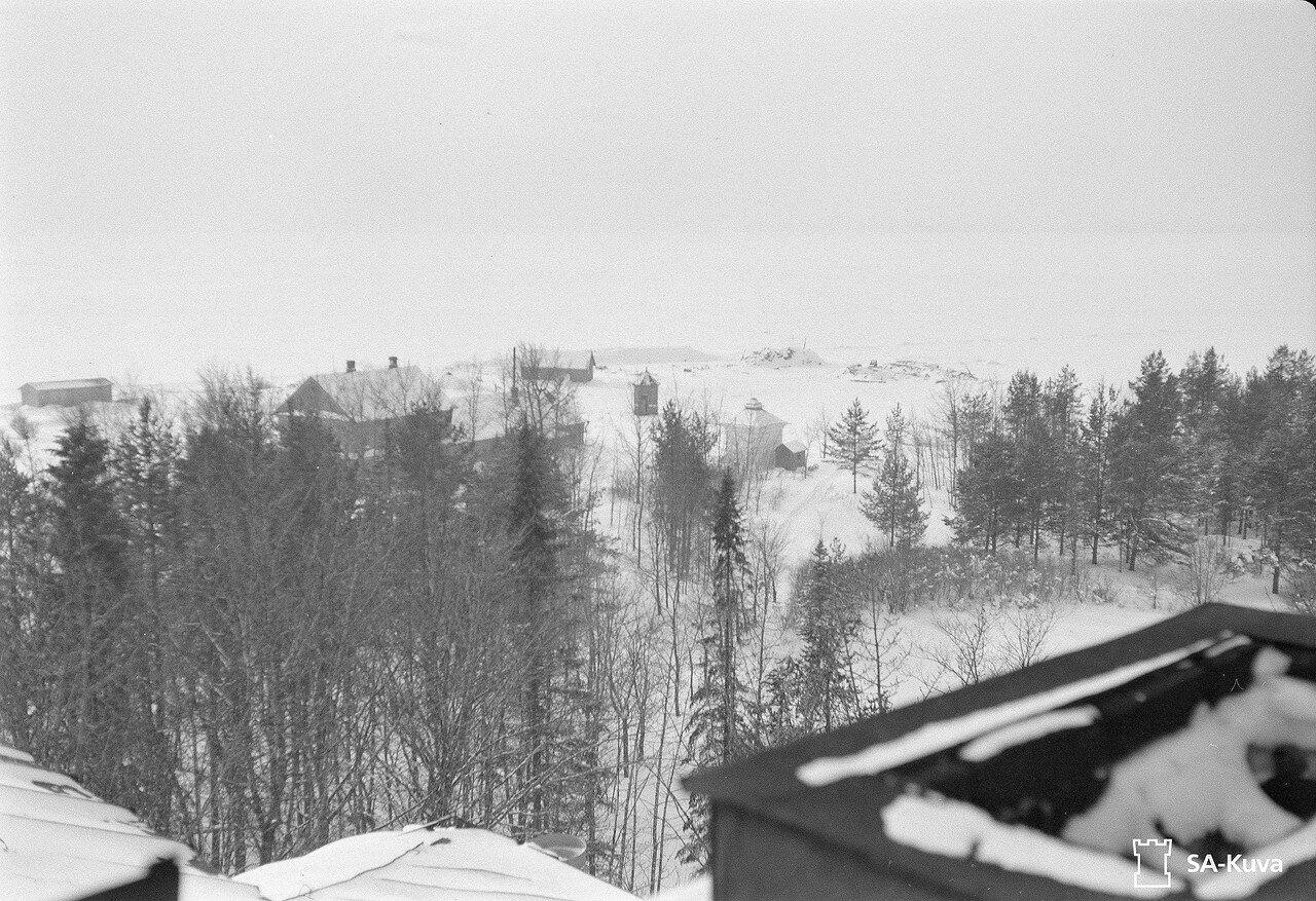 1942. Гавань зимой