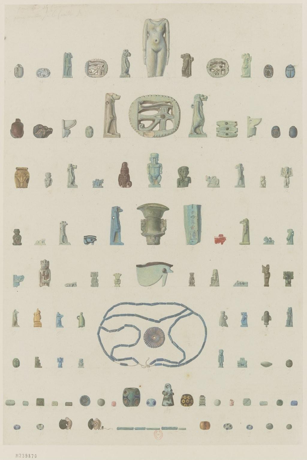 Античная коллекция. Статуэтки и амулеты