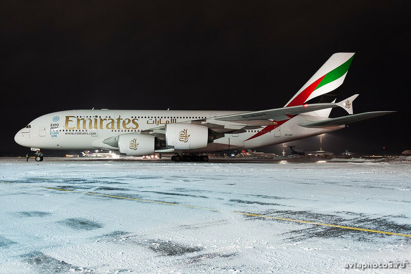 Airbus A380-861 (A6-EDT) Emirates 310_D706826