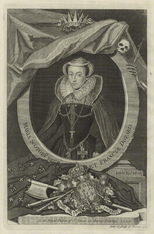 NPG D31820; Mary, Queen of Scots
