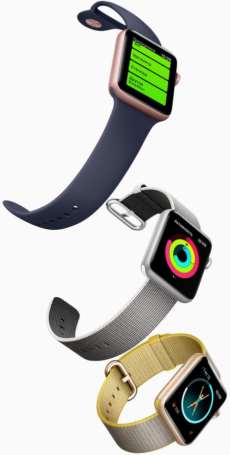 Apple watch series 2 под водой