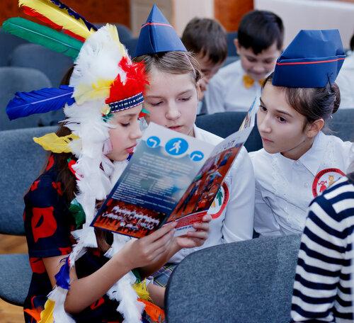 Районный этап областного конкурса агитбригад. Команда гимназии №38