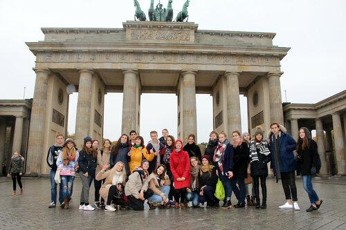 Фотографии участников поездки в Берлин. Проект «Черный, белый или цветной?»