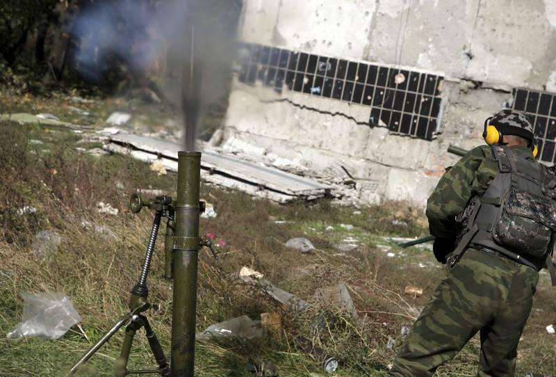 Боевики ведут минометные обстрелы позиций ВСУ на Мариупольском и Луганском направлениях, - пресс-центр штаба АТО