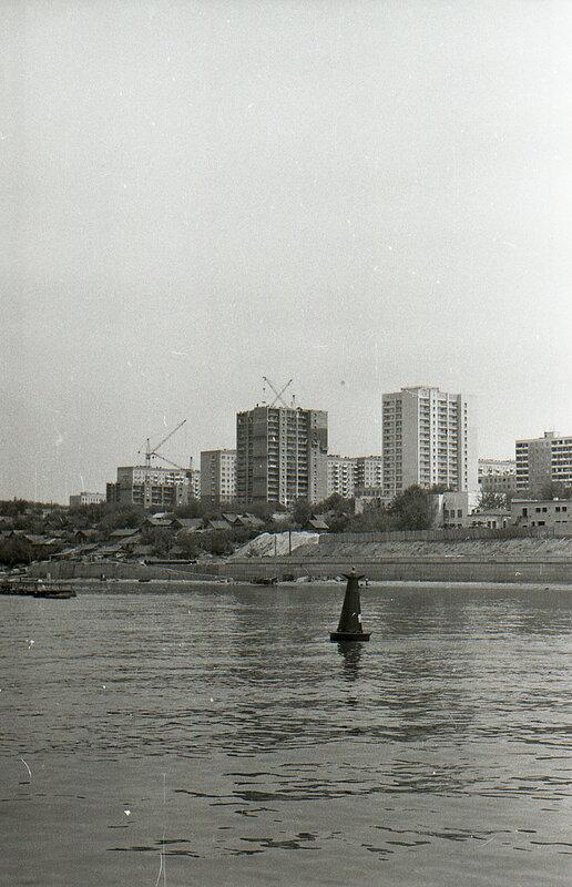 4-я очередь набережной Куйбышева 70-80 гг.