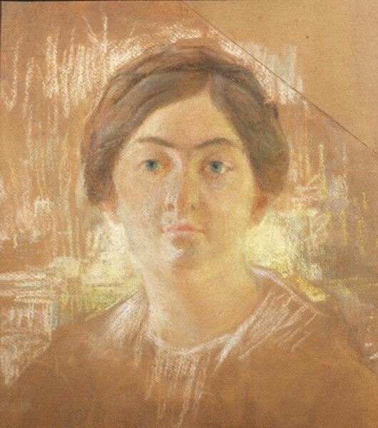 Женский портрет 1920-е годы, пастель.jpg