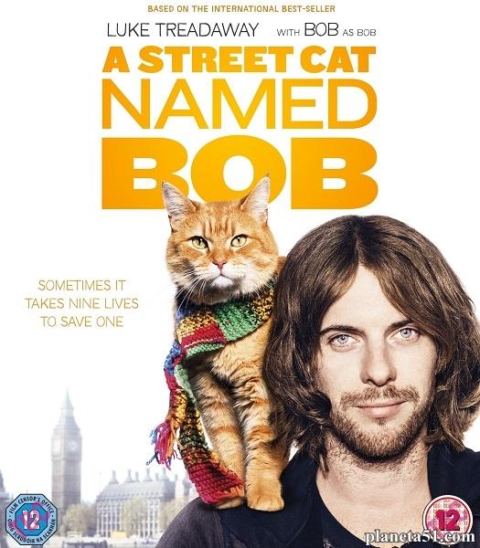 Уличный кот по кличке Боб / A Street Cat Named Bob (2016/WEB-DL/WEB-DLRip)