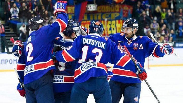 Сегодня. Санкт-Петербург. СКА-'Авангард- 5:3. СКА победил в первом домашнем матче в 2017 году