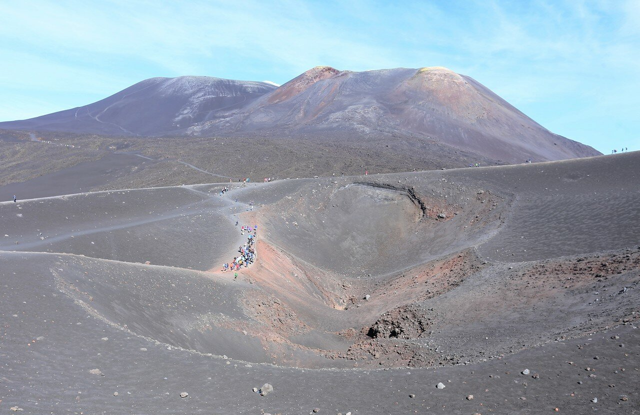 Etna. Crater Tower Of Philosophers