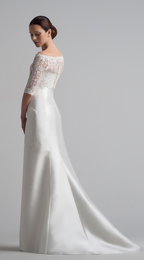 Шифоновые свадебные платья (2 фото)