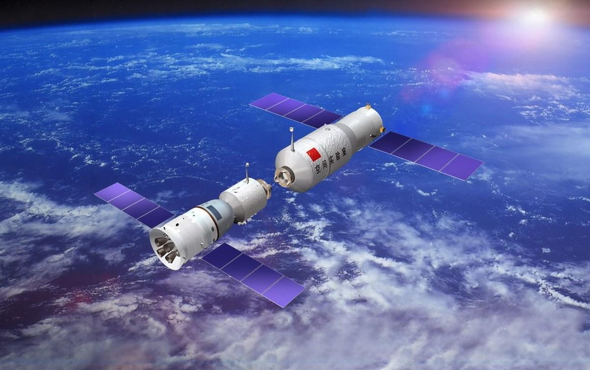 18. Китайская космическая лаборатория Tiangong-2, также известная как «Небесный дворец — 2».