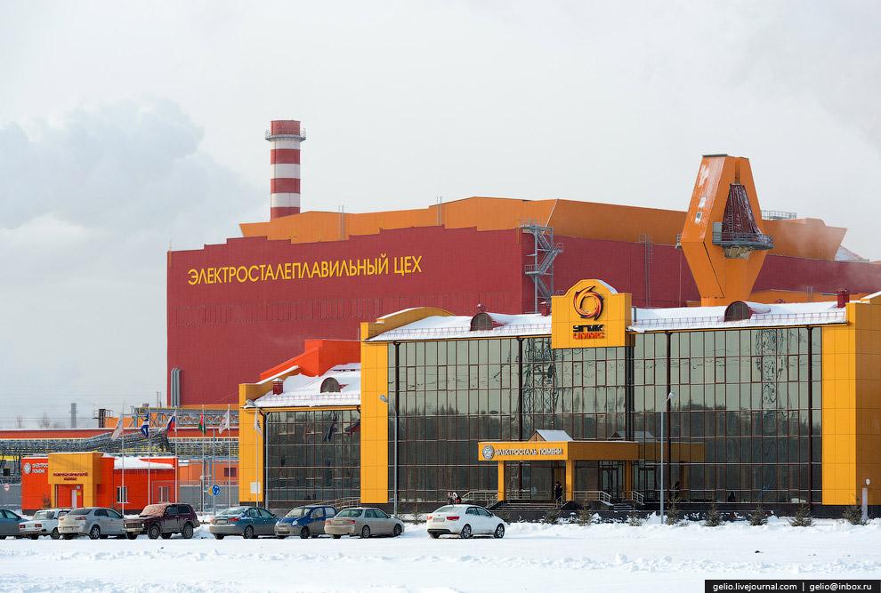 Принцип работы завода «Электросталь Тюмени» основан на быстром получении расплава лома черных м