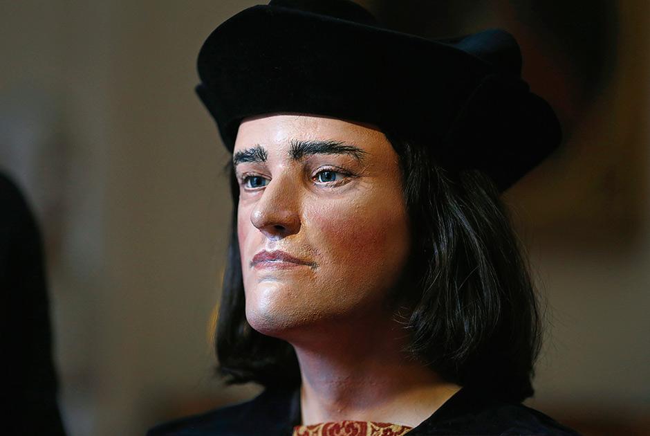 4. Король Ричард III, реконструированный по останкам, обнаруженным осенью 2012 года под автостоянкой