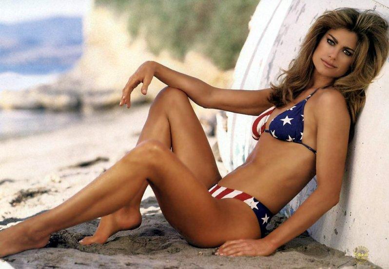 Самая богатая бывшая супермодель в мире, американка Кэти Айрленд отлично заработала как модель в 198