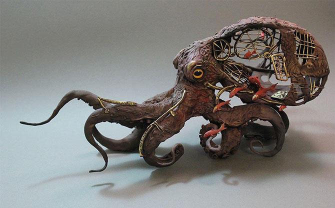 Удивительные и необычные скульптуры от Эллен Джуетт