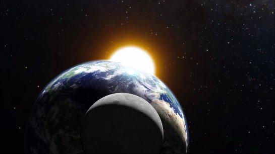 Стало известно, когда наша планета может повстречаться сЛуной
