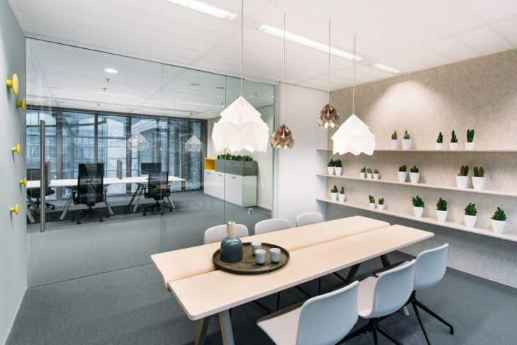 Contemporary Office Space by Atelier Pro Architects