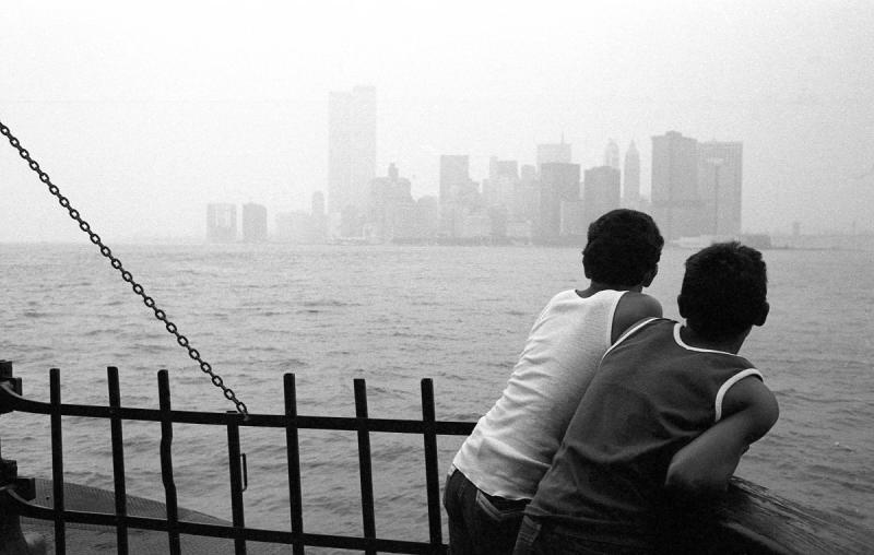 Staten Island Ferry, NY Harbor, 1981 She captured all of these photos on a Nikon FM Manual fi