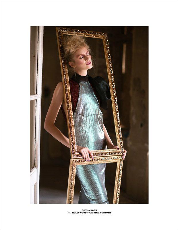 Portrait of a Lady by Dominika Wozniak for Design SCENE Magazine