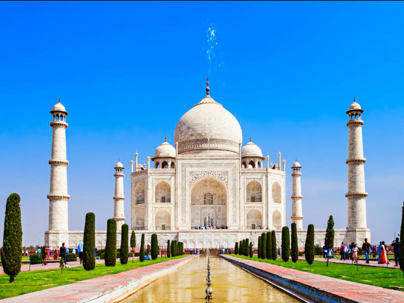 Average summer rates in Agra: June —$33, July — $34, August — $34 4. St. Peter's Basilica in