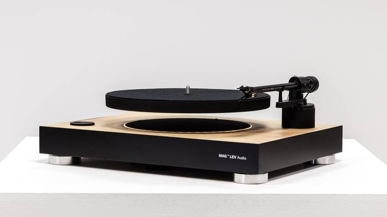 MAG-LEV Audio - The first levitating turntable looks amazing