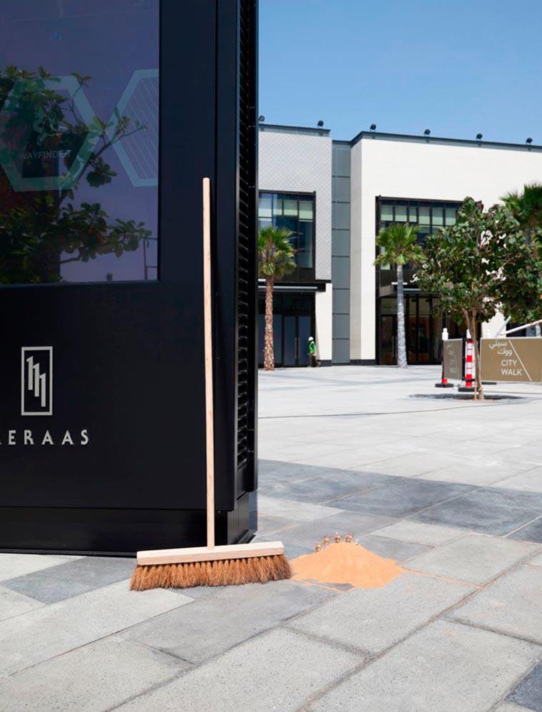The clever miniature street art of Slinkachu lands in Dubai
