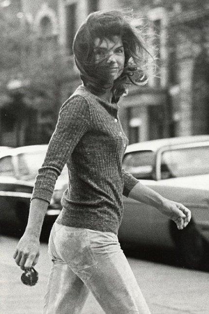 Windblown Jackie / John Galella / 1971