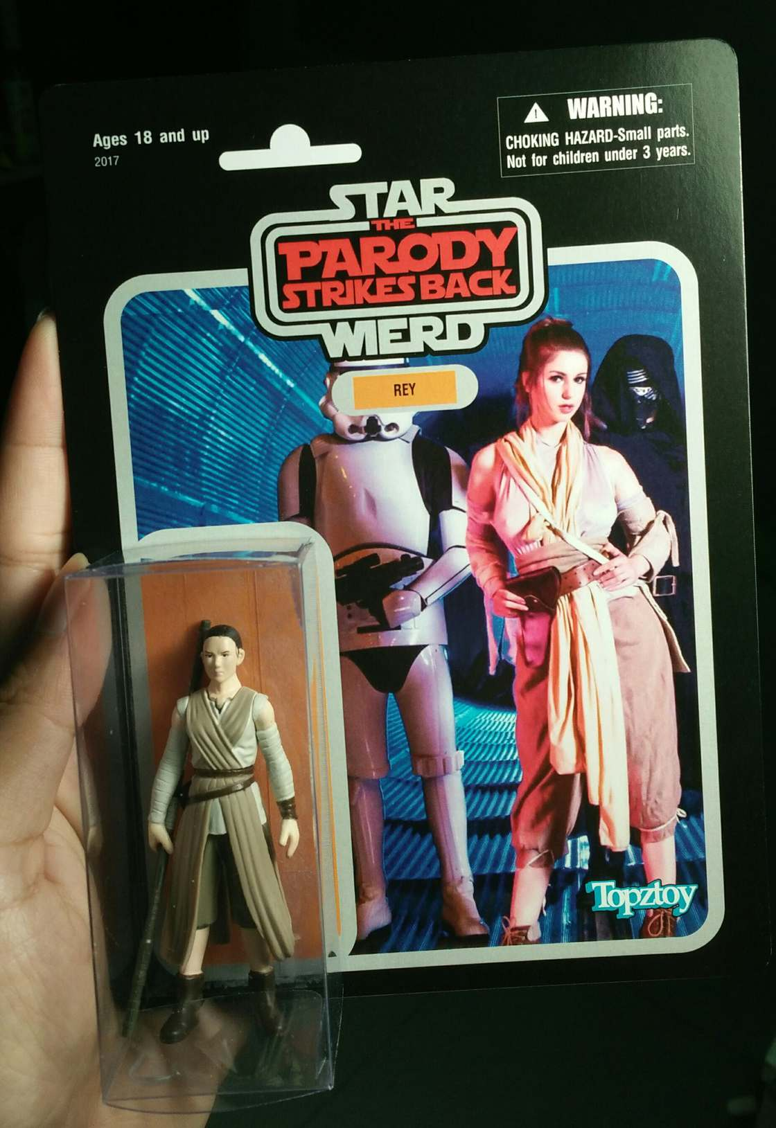 Now even the porn parody of Star Wars has its own figurines