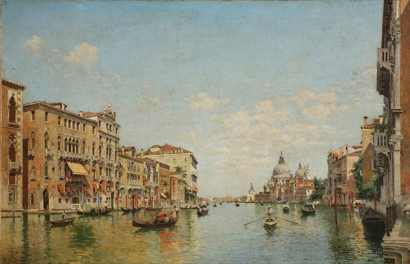 2 Federico_del_Campo_-_View_of_the_Grand_Canal_of_Venice_-_.jpg