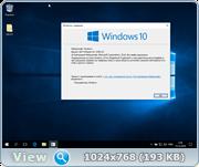 Windows 10 Pro 14393 x64 (Волшебная срезка) by WinRoNe