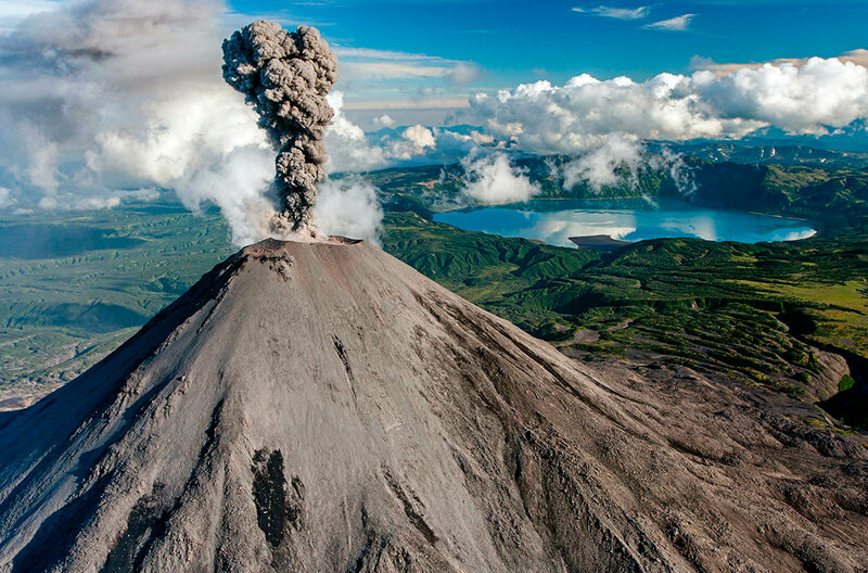 Карымский вулкан. Полуостров Камчатский
