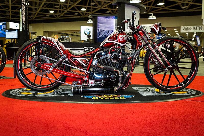 Результаты J&P Cycles Ultimate Builder 2017 в Далласе