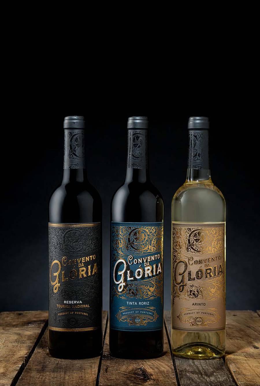 Stylish Visual Identity for Portuguese Wine