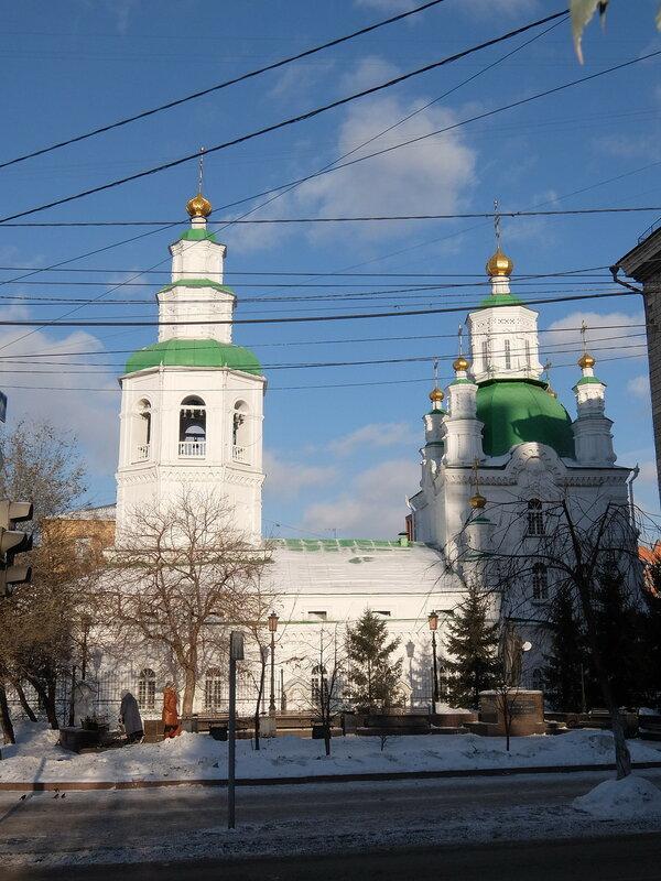 Красноярск - Покровский кафедральный собор