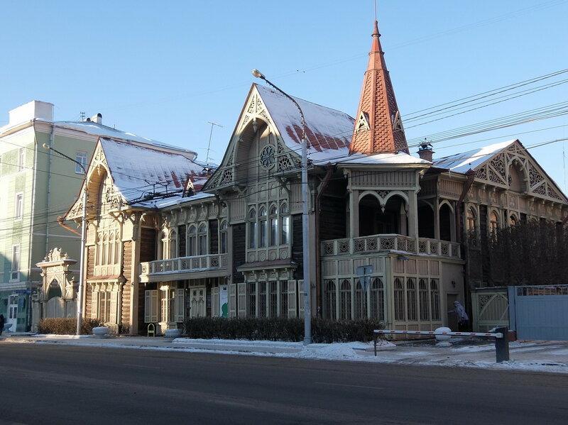 Красноярск - Литературный музей имени Астафьева