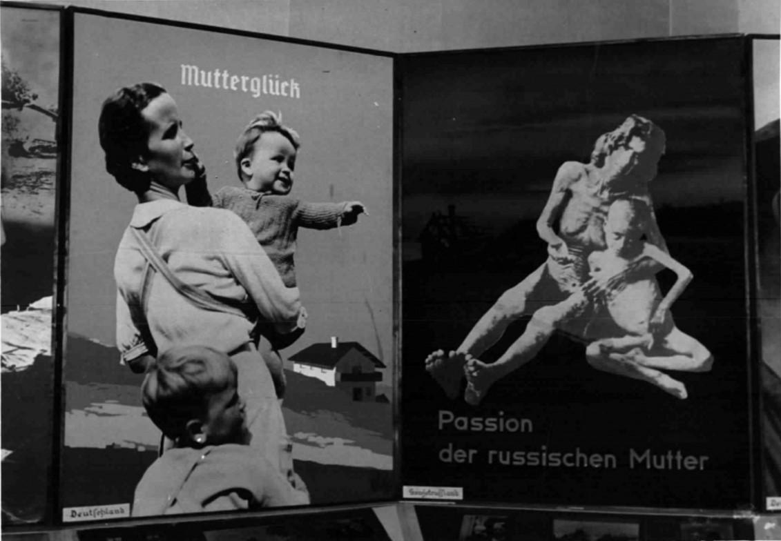 1938. 12.10. Антибольшевистская выставка в Вене. Агитационные плакаты выставки