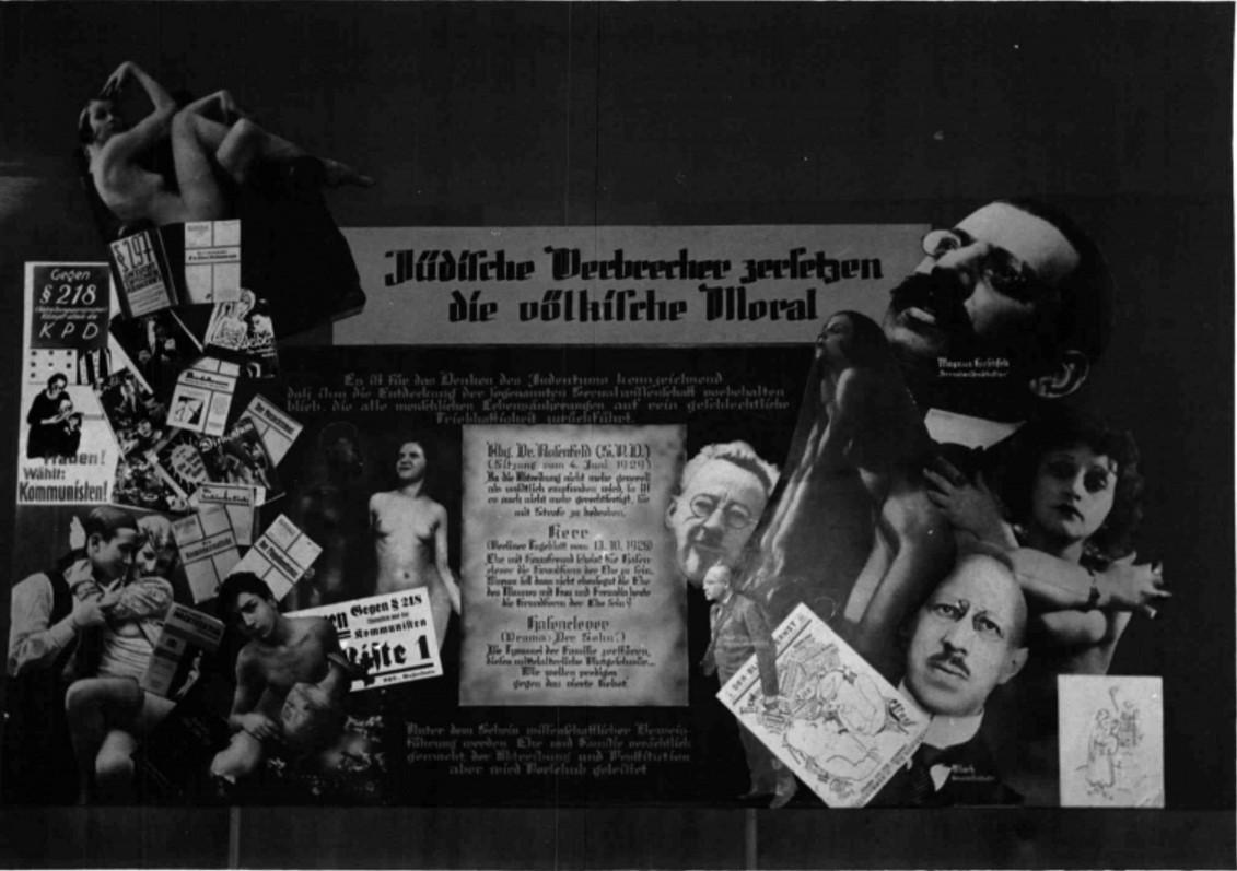 1938. 12.10. Антибольшевистская выставка в Вене. Выставочные коллажи