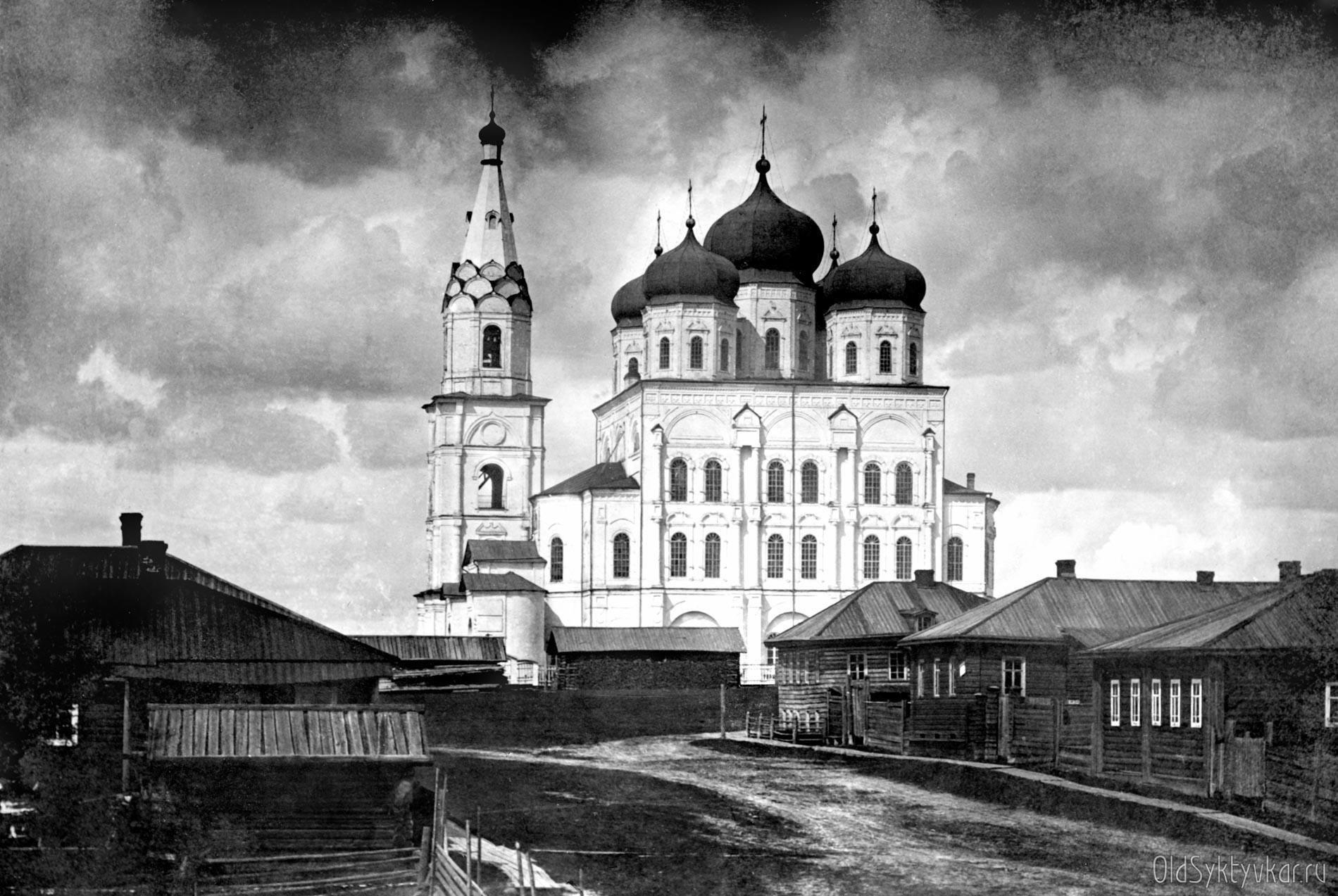 Стефановский собор, вид с улицы Троицкой
