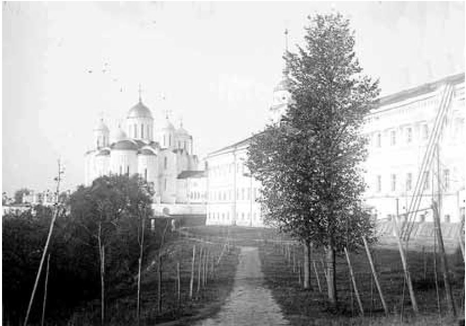 Успенский собор и Присутственные места. Вид с востока