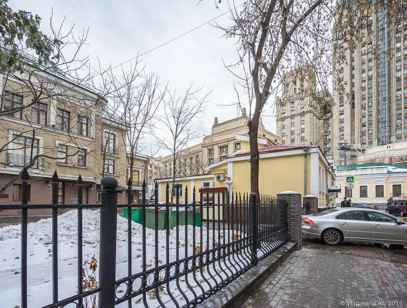Главный дом городской усадьбы. Сивцев Вражек, 45.