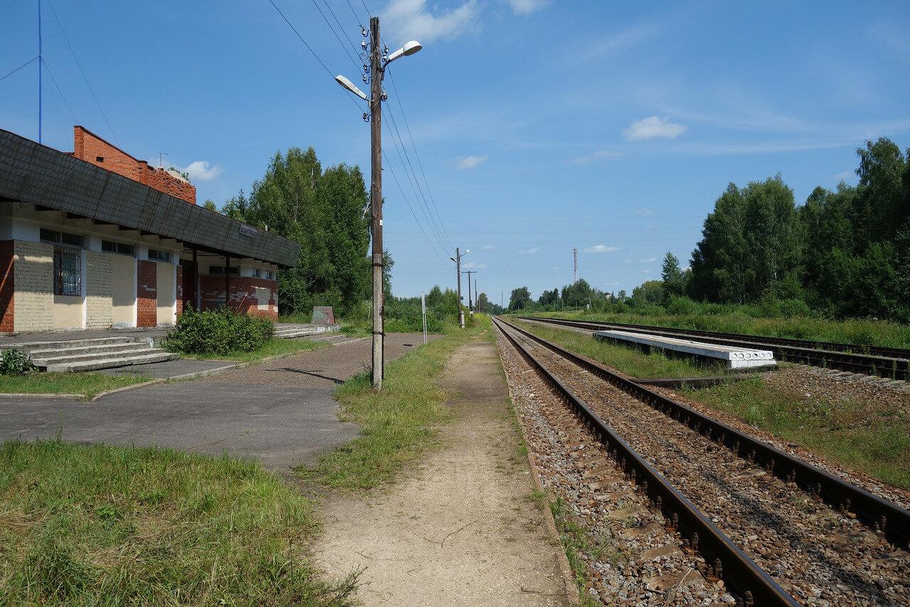станция Белый Городок Окт. ЖД
