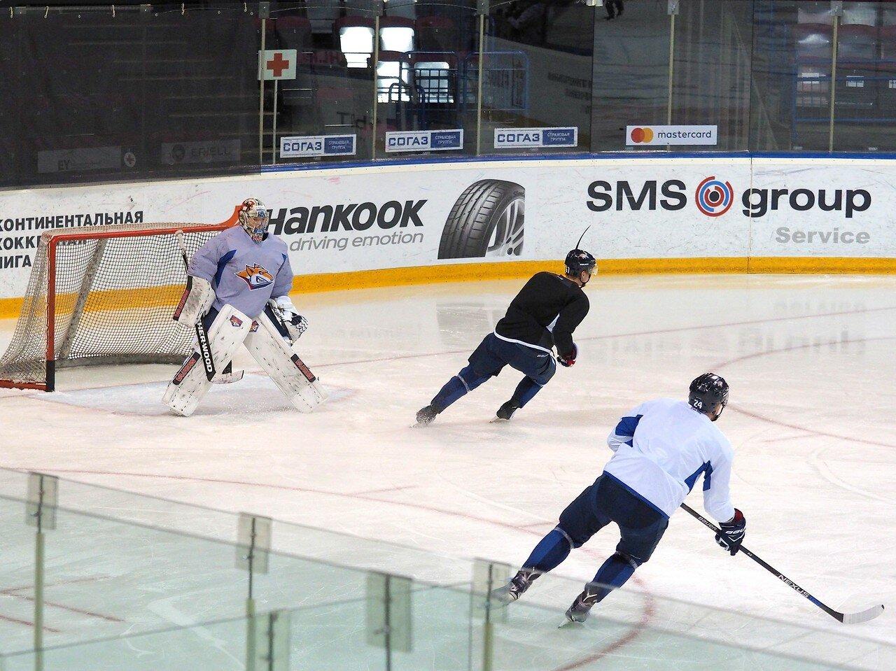 21 Открытая тренировка перед финалом плей-офф восточной конференции КХЛ 2017 22.03.2017